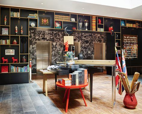 citizenM Tower of London, London, 2016 - Concrete Architectural - design hotel citizenm london