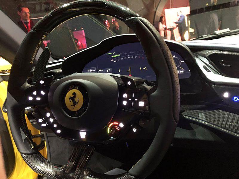 Ferrari Sf90 Stradale Steering Wheel