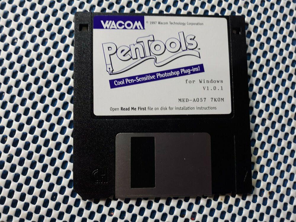 1997 PenTools/Pen Tools Plug In for Windows V1 0 1 by Wacom