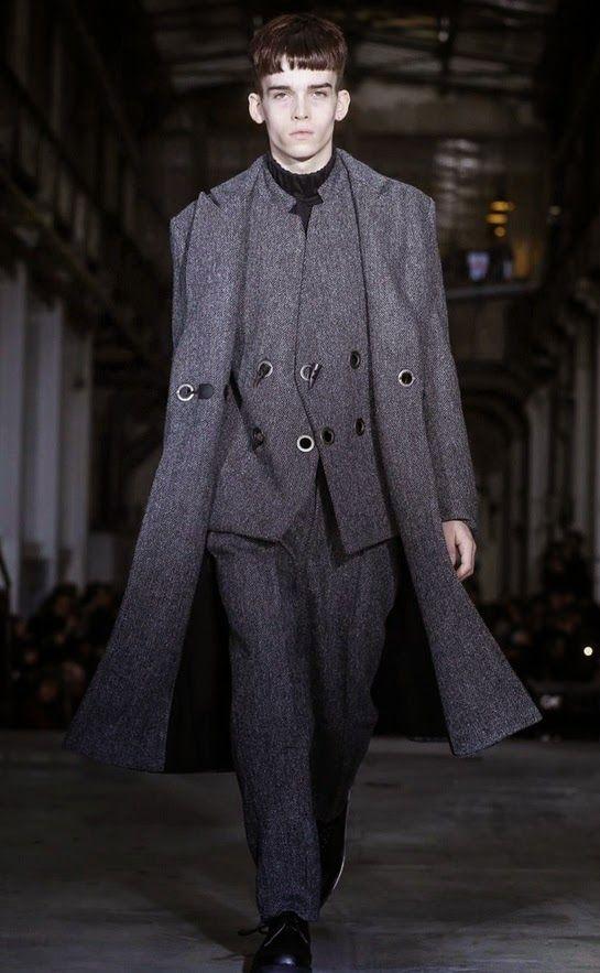 d1 Model Management: Jack Burke & Jack Taffel for Y Project AW15 Paris