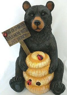 Image Result For Honey Buzz Bear Statue