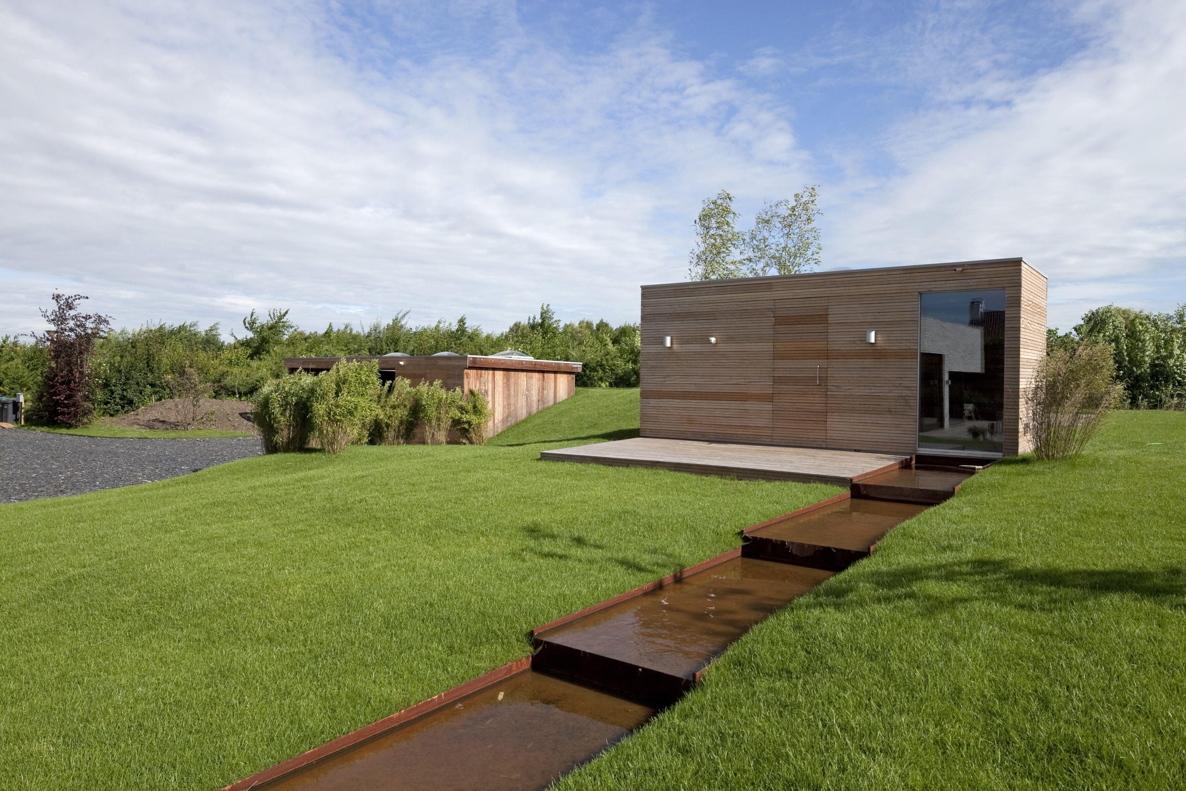 70F Architecture Villa Frenay Lelystad The Netherlands Modern House Designlandscape
