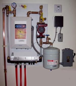 Radiant Floor Heating Wall Mounted
