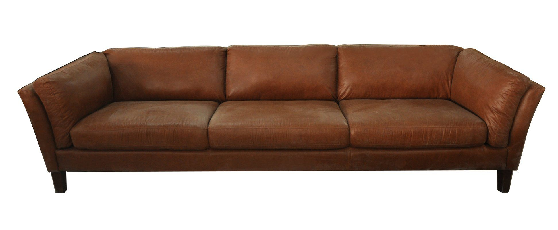 Condron 3 Seater Leather Sofa in 2019 | House | 3 seater ...