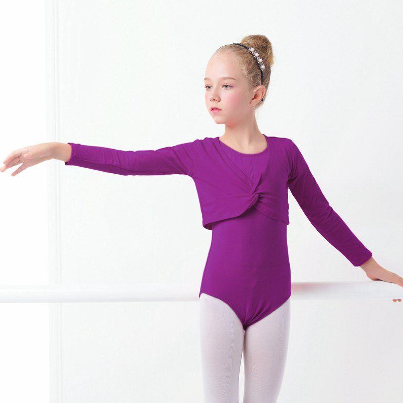 Criancas Meninas Casaco Rosa De Cintura Alta Roupas De Danca