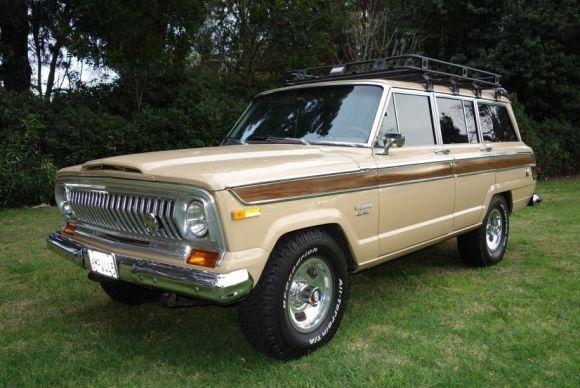 1976 jeep wagoneer vin j6a15mz092706 runs a factory amc 401 v8 and gm turbo 400 transmission. Black Bedroom Furniture Sets. Home Design Ideas