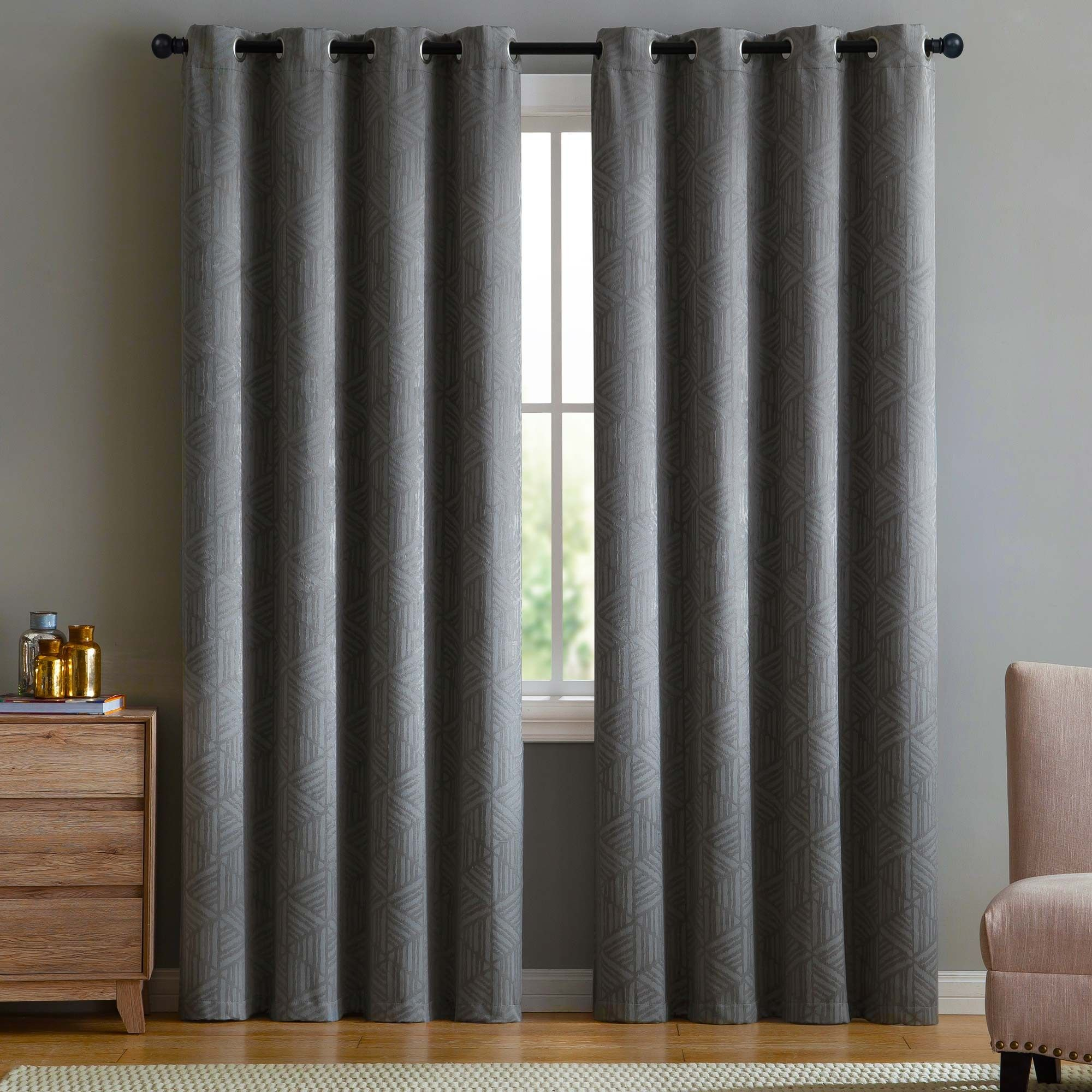 Dress Up Your Windows With Vcnys Henry Blackout Window Curtains