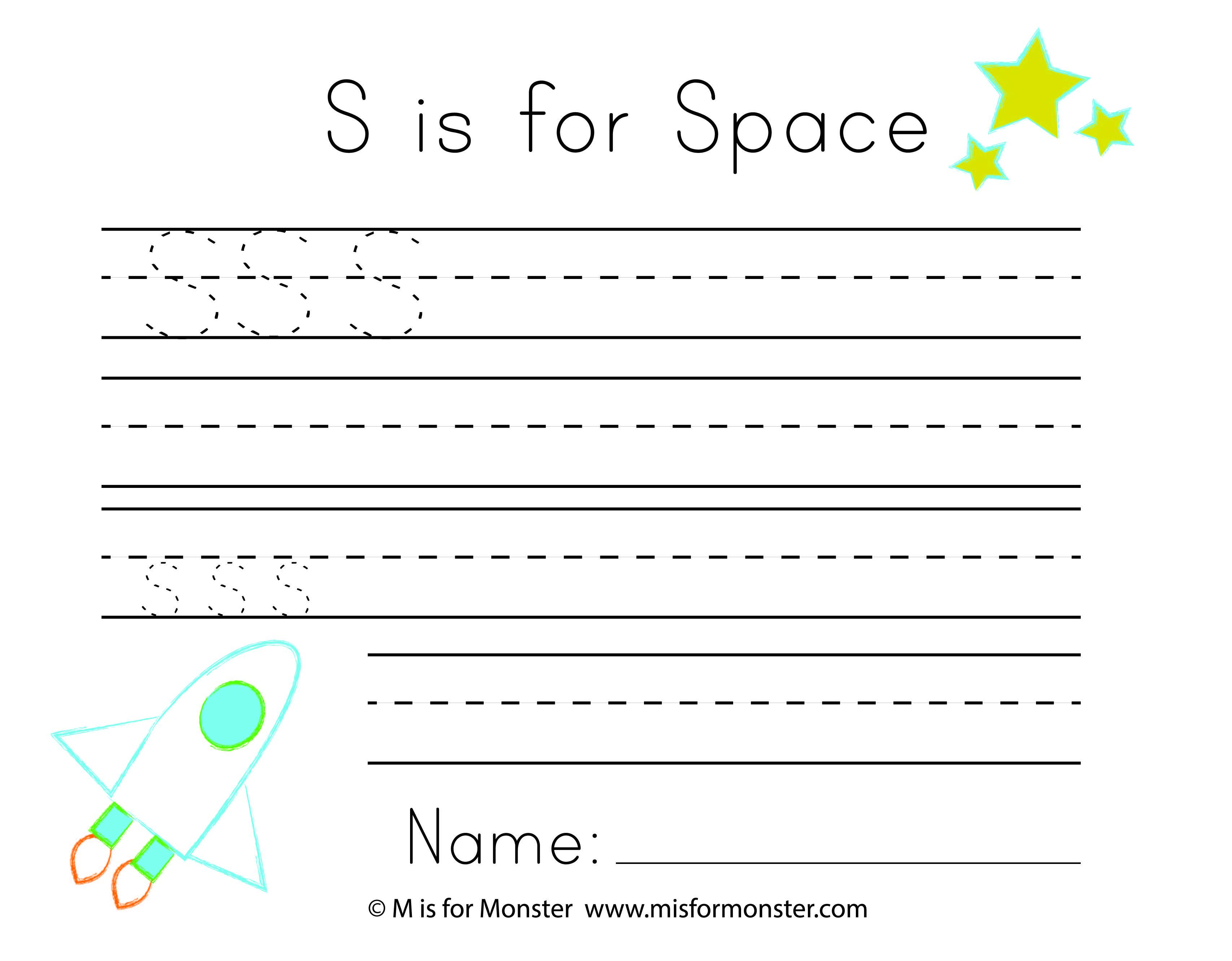 Space Week Free Printable