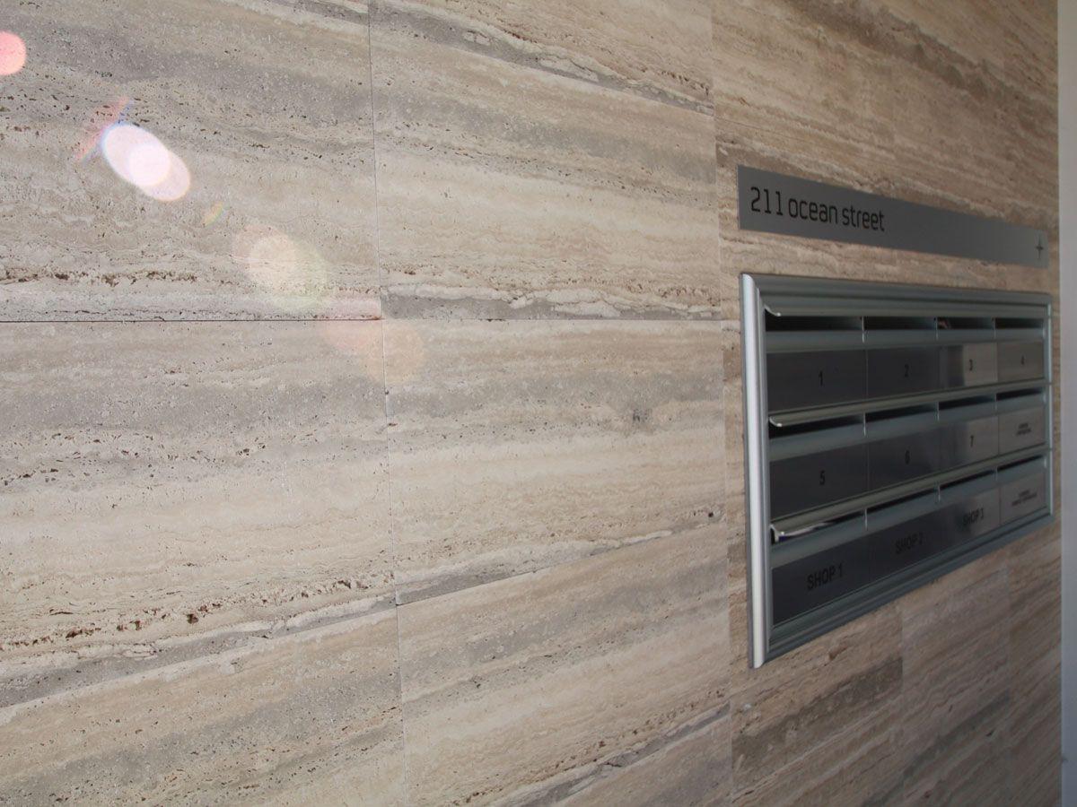 Unfilled U0026 Honed Domus Striato Vein Cut Exterior Wall Tiles
