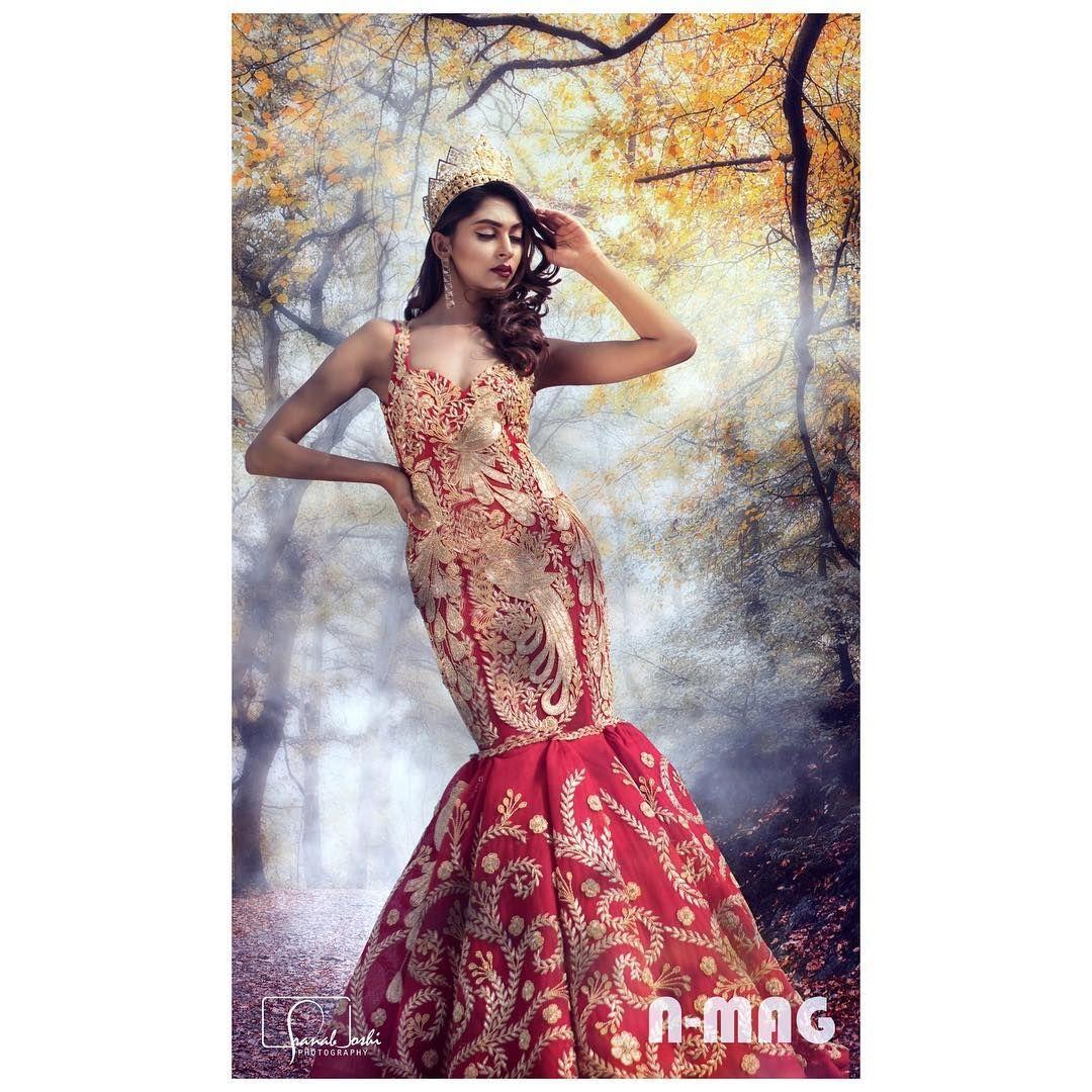 Nikita Chandak On A Manish Rai Dress Desi Clothes Formal Dresses Long Evening Gowns