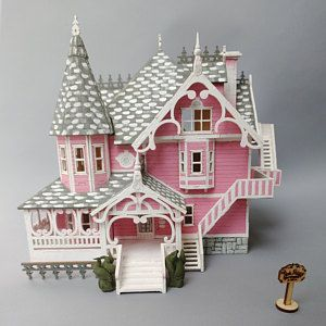 Pink Palace Coraline House Kit Pink Palace Pink Palace Apartments Girl s Birthday Present