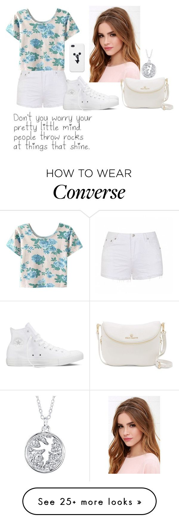 """Love like"" by hannahmcpherson12 on Polyvore featuring Ally Fashion, WithChic, Converse, Lulu*s, Vince Camuto, Disney, women's clothing, women, female and woman"