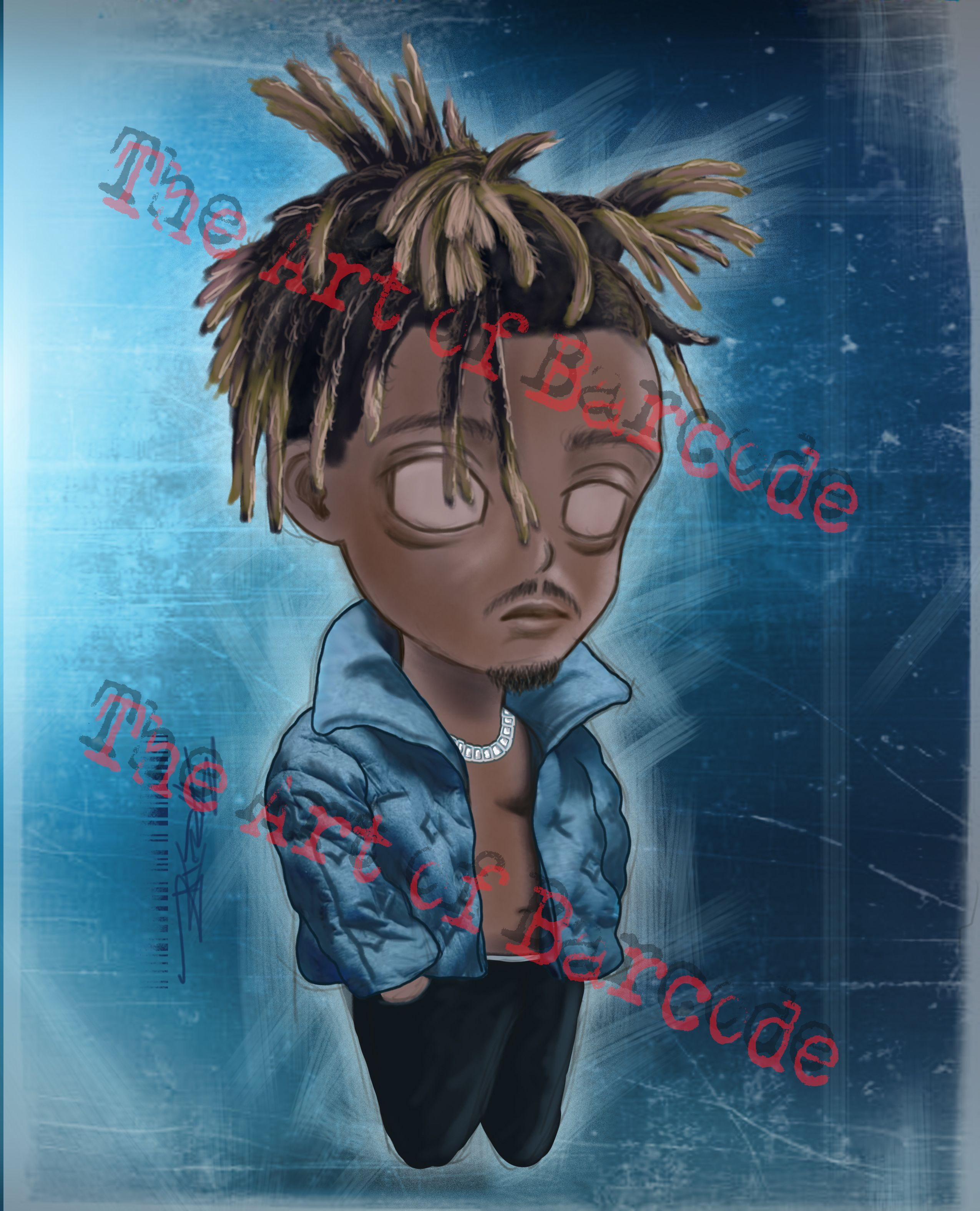 Juice Wrld Chibi 8x10 Art Print in 2020 (With images