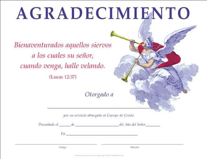 certificados de reconocimiento cristianos | certificado de ...
