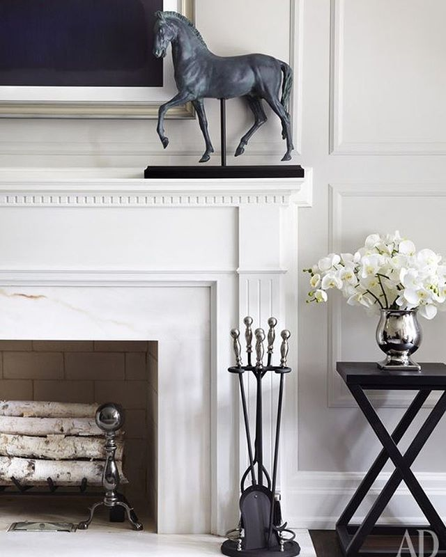 WEBSTA @ build_prestige_homes - #bphloves 💙 the #classic #detailing on this #gorgeous #fireplace featured in @archdigest 🙌 #inspopic for #bphclients ✔️