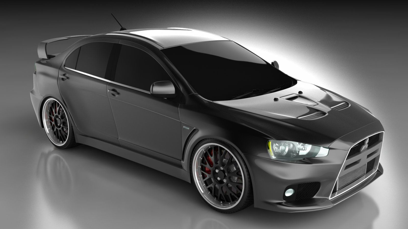 Black lancer evo 2014 wallpaper mitsubishi 2014 black evo
