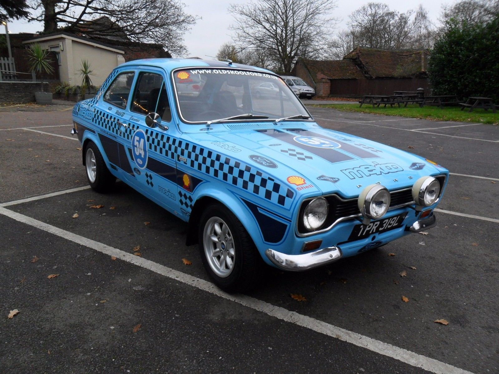 This mk1 escort 2 door mexico recreation is for sale. | Fast Fords ...