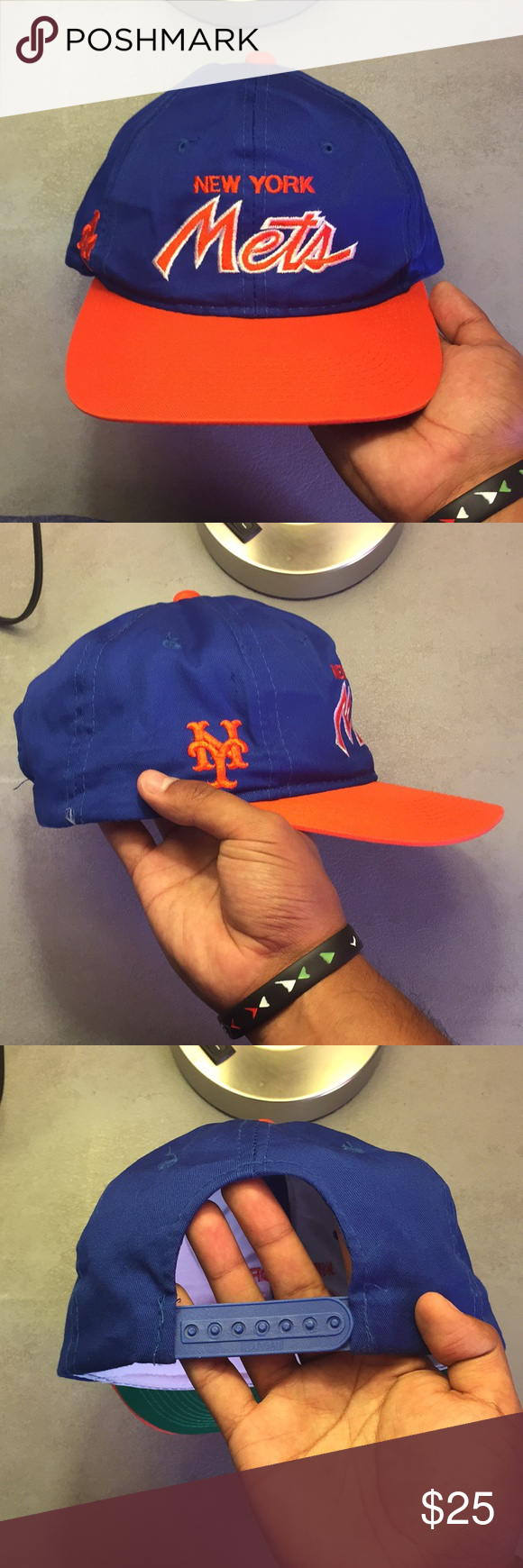 dfd8baf7 Vintage Sports Specialties New York Mets Hat Good condition. No flaws. WILL  CONSIDER OFFERS. **Check out the rest of my closet** MLB Accessories Hats