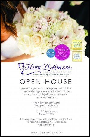 Wedding Open House Invitations