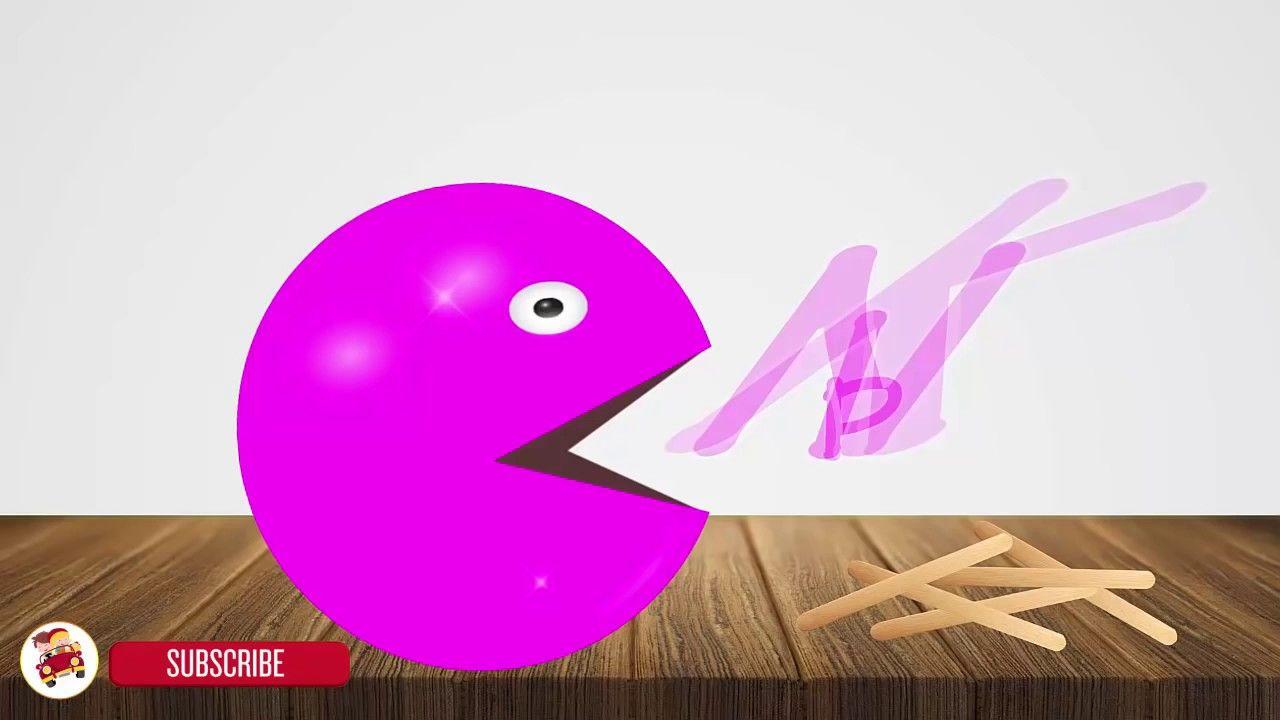 تعلم الالوان باللغه الانجليزيه للاطفال Learning Colors With Pacman Ice C Learning Colors Coloring For Kids Learning