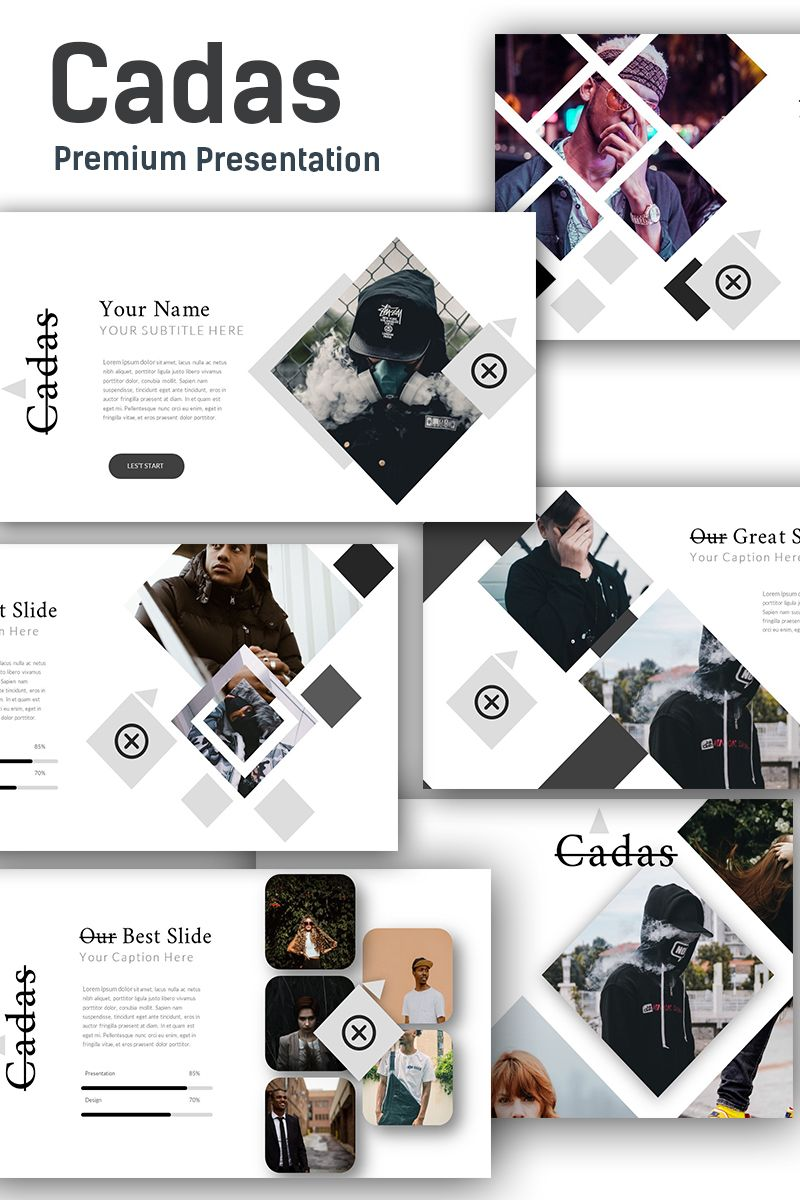 Cadas Creative Presentation Powerpoint Template 74351
