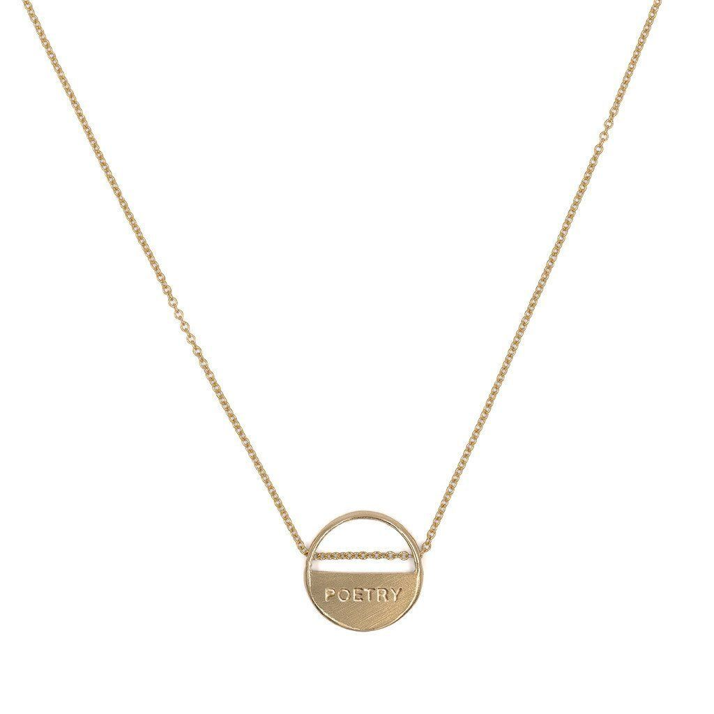 with you/french necklace | 小清新项链 | Gold filled chain, Gold