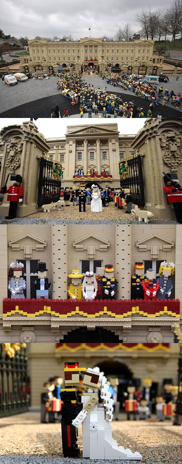 Royal Wedding Created With Legos Lego Creations En Lego Jouet