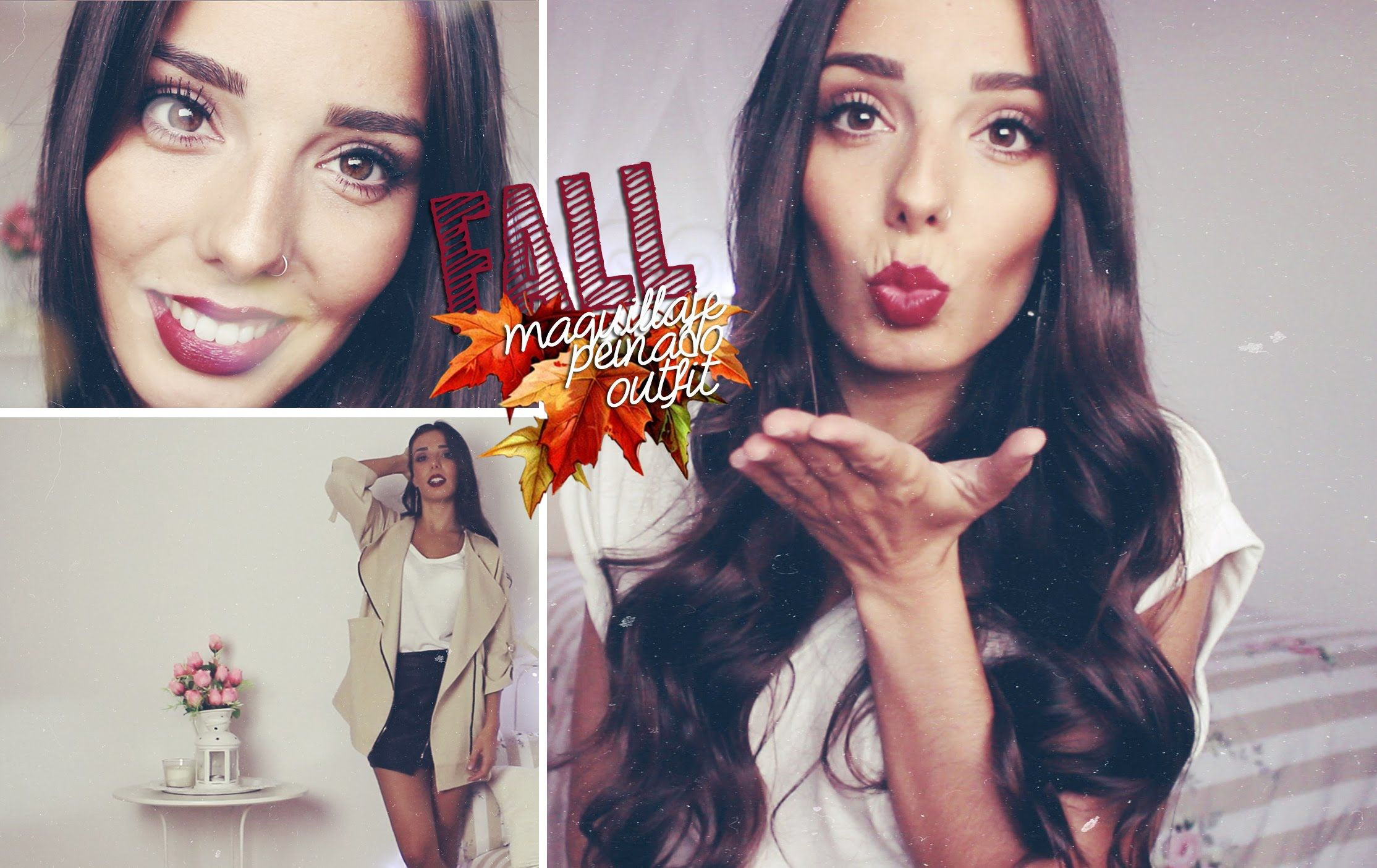 Fall ♡ Maquillaje, Peinado y Outfit Otoñal   A Little Too Often