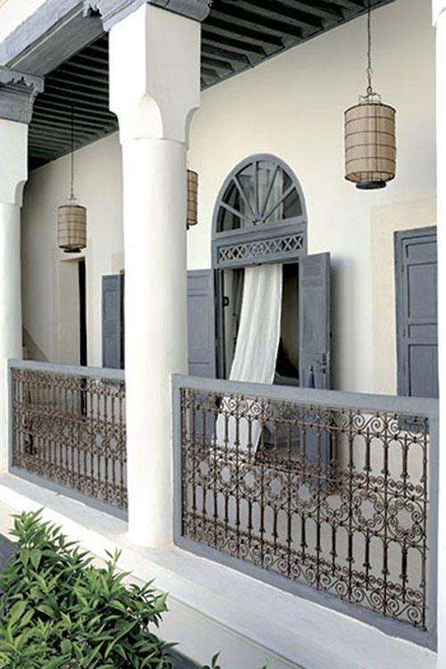 Riad Tarabel 1 Railing Balcony Pinterest Maroc Maison Maroc