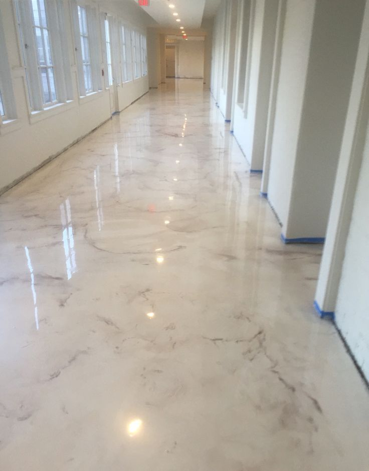 Concrete Stained Like Marble Google Search Metallic
