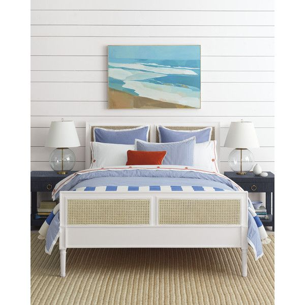 Serena Lily Oxford Stripe Duvet Cover 168 Via Polyvore Featuring Home Bed Bath Bedding Duvet Cover Coastal Bedrooms Guest Bedrooms Luxurious Bedrooms