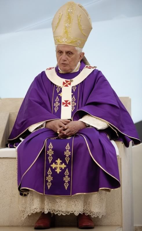 The Pope in purple | PURPLE