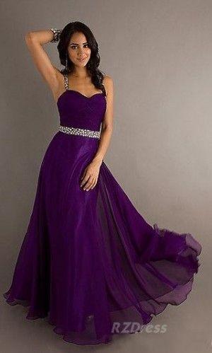 46++ Purple floor length dress info