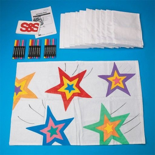 Buy Campers Pillow Cases Craft Kit (makes 12) at SampS Worldwide  Buy Campers Pillow Cases Craft Ki