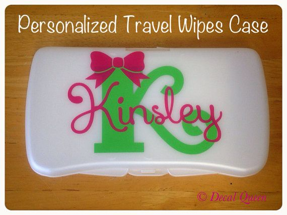 Personalized travel baby wipes case wipes case cricut and babies personalized travel baby wipes case by thedecalqueen on etsy 800 negle Images