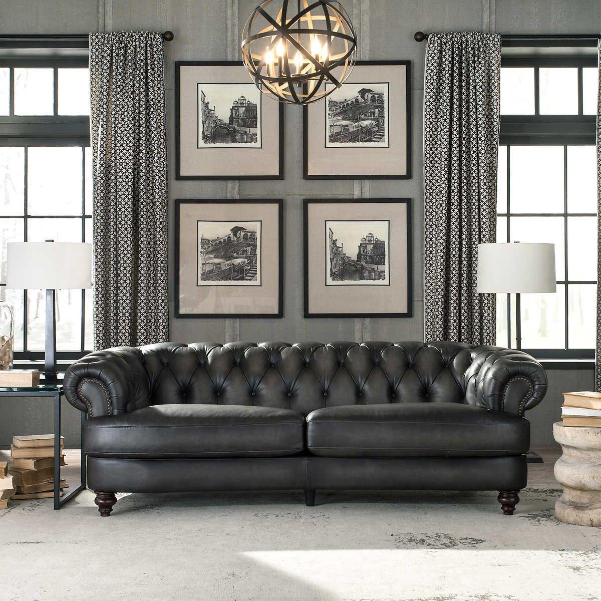 Glenbrook Leather Sofa Leather sofa, Best leather sofa