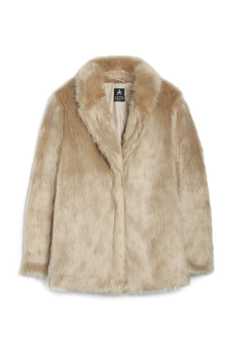 Manteau ou veste fausse fourrure