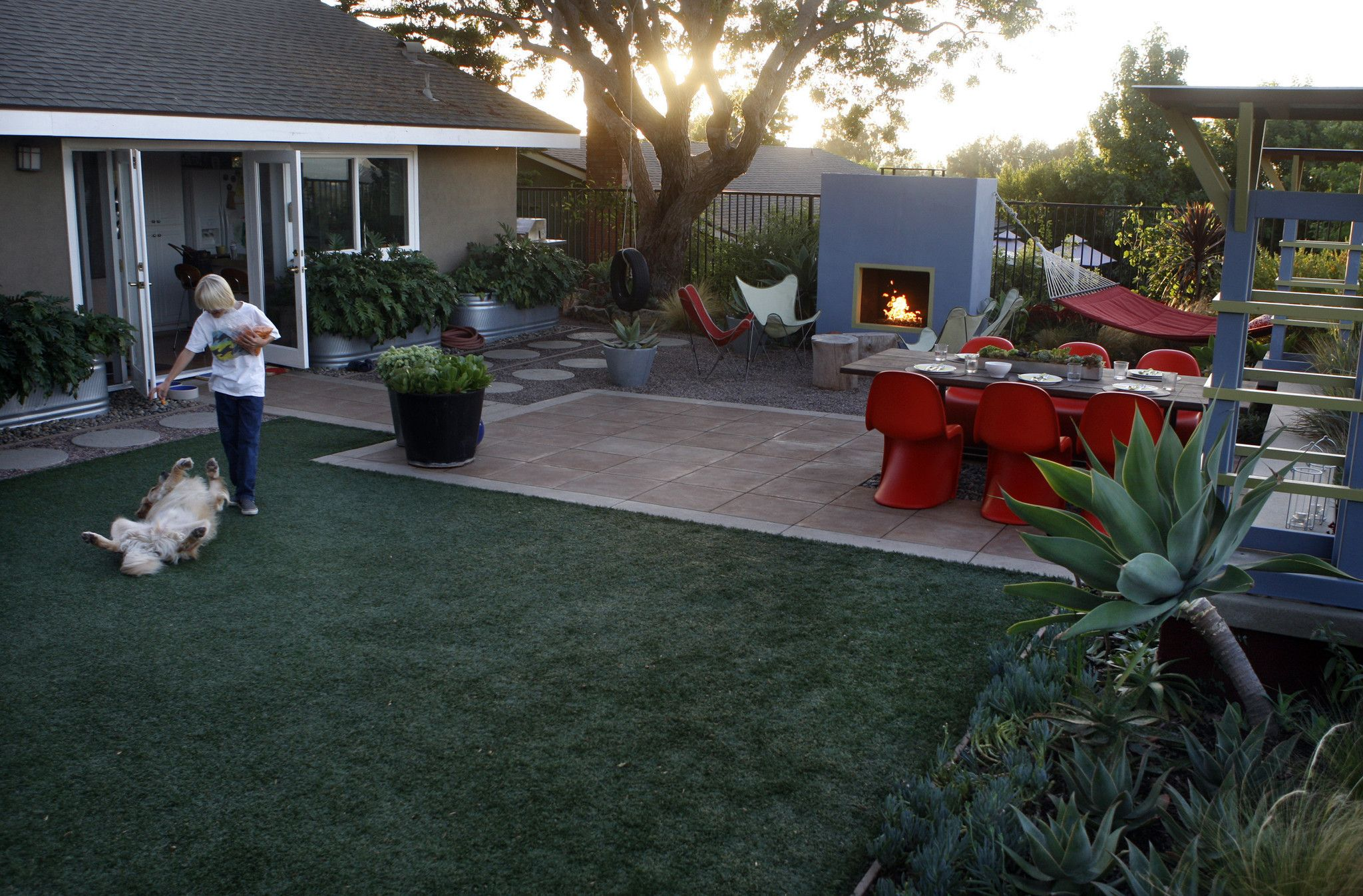 Garden Ideas To Replace Grass are you an environmental enemy if you replace your lawn with fake