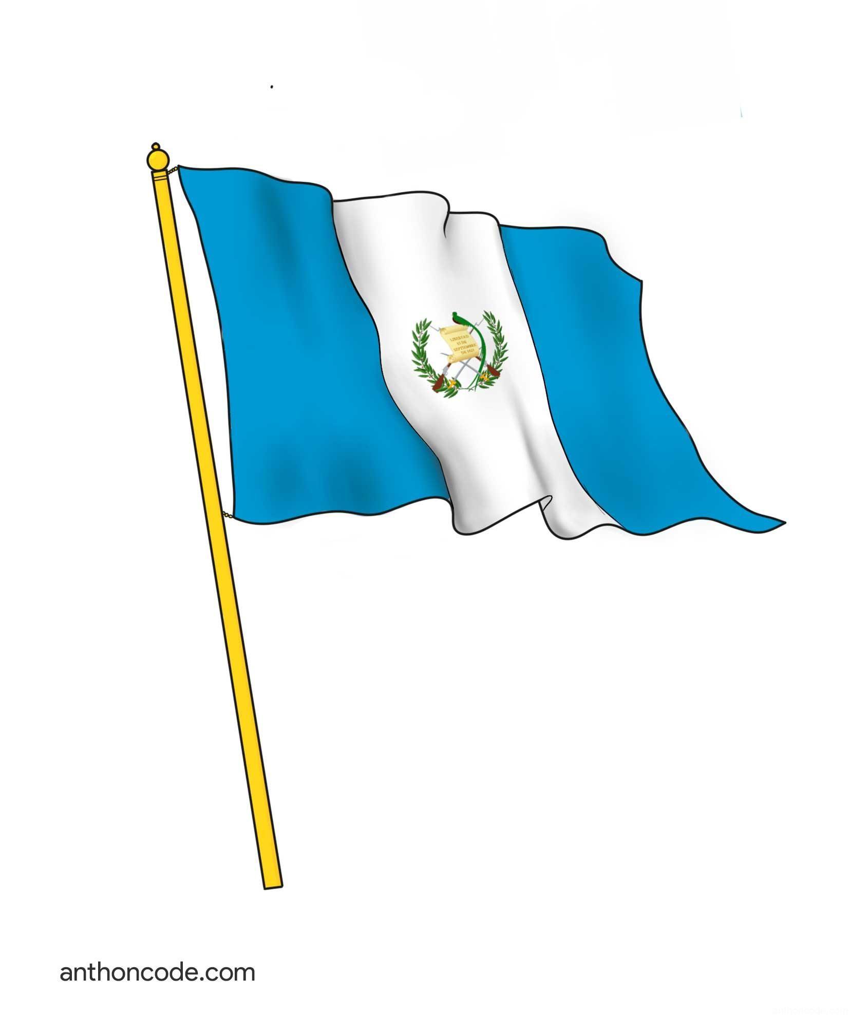 significado del escudo de la bandera de guatemala