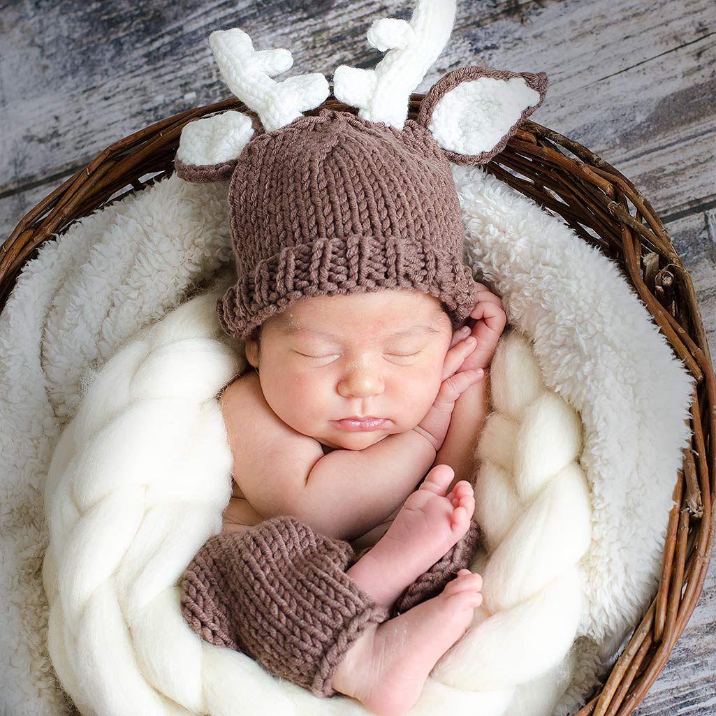 5b2835e12b599 Disfraz para bebes. Disfraz reno con gorrito y pantalón