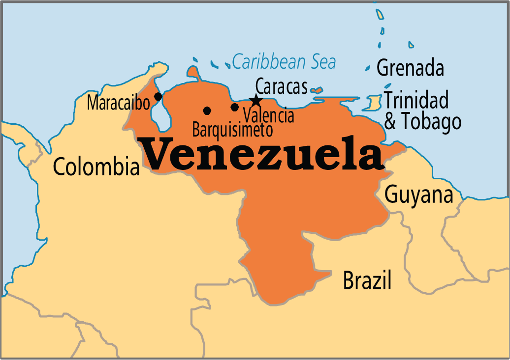 Venezuela is a country in South America. The capital of ...