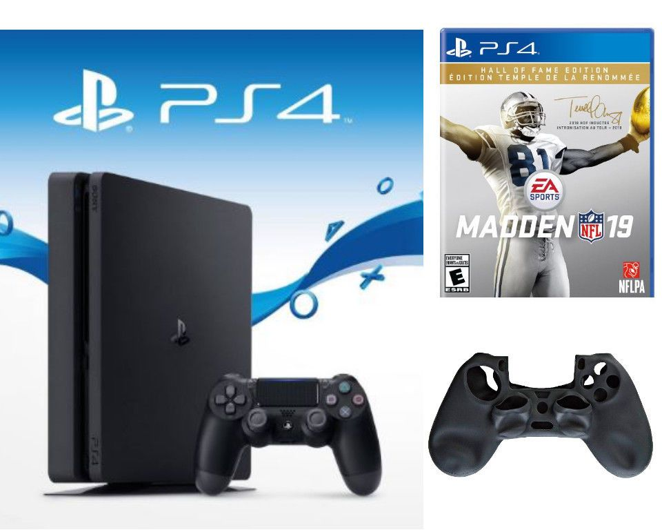 Sony Playstation 4 Slim 500gb With Madden 19 Hall Of Fame Edition