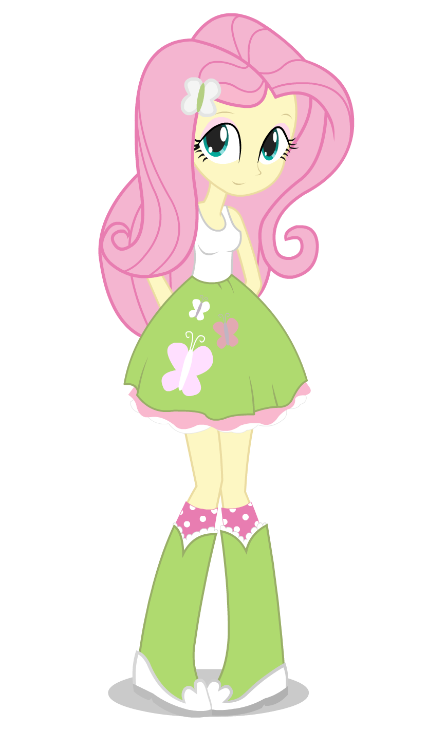 My Little Pony Fluttershy Equestria Costume
