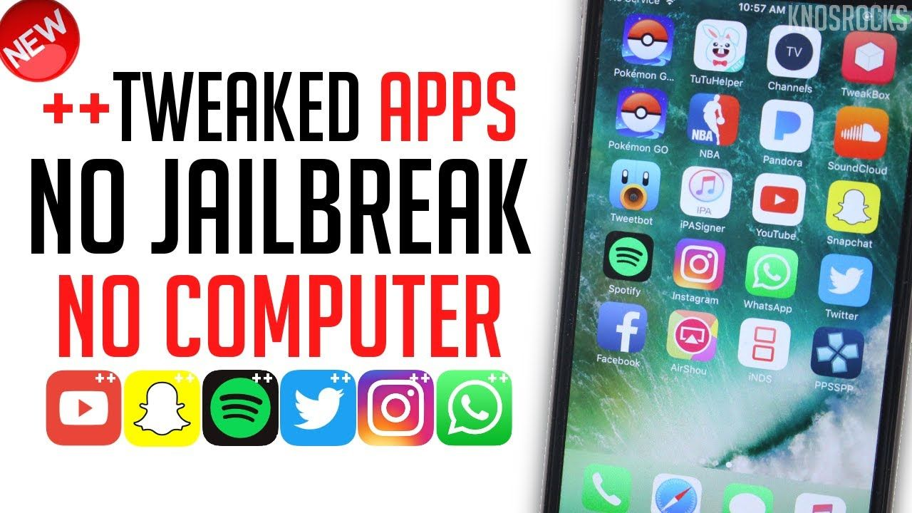 NEW! How To Install Tweaked ++ Apps Free iOS 10.3.2 10