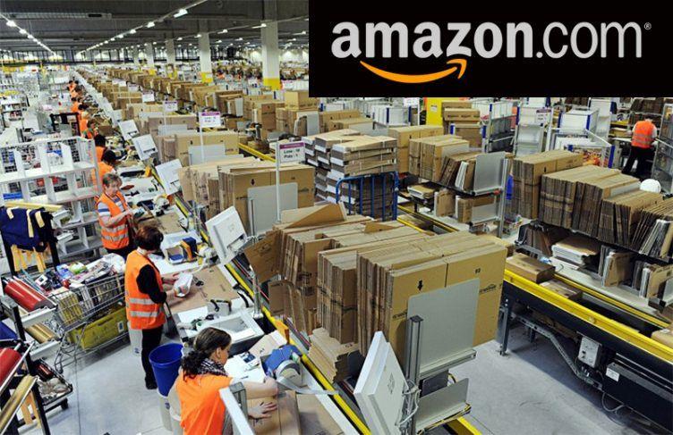 amazon warehouse (With images) Warehouse, Amazon