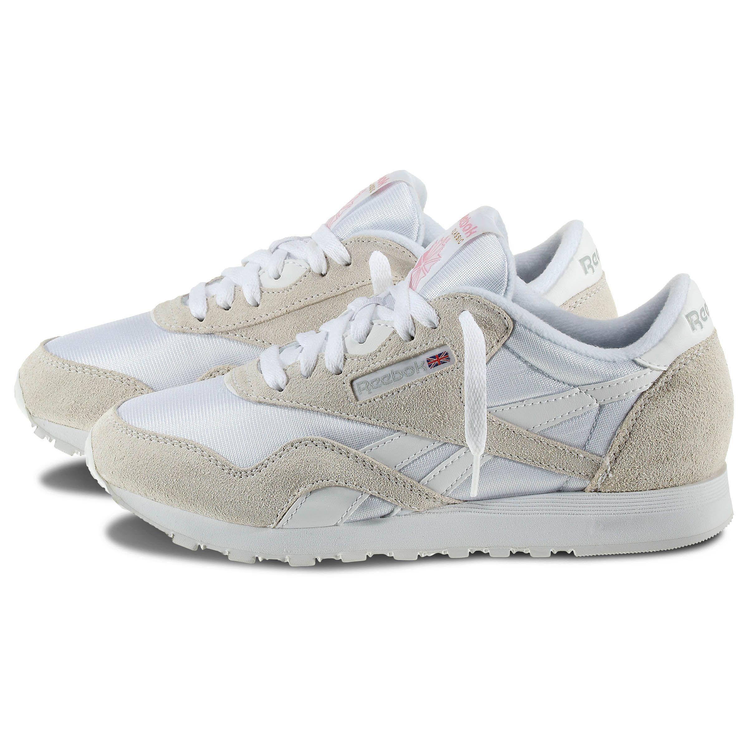 f957c53a55 Classic Nylon | Wish List | White reebok, Reebok, Shoes