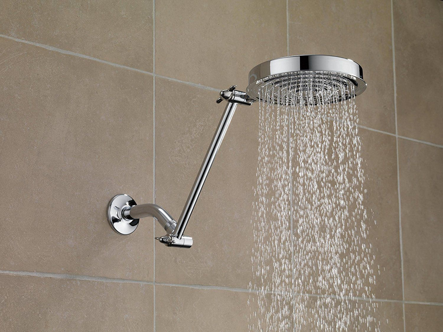 Best Shower Head Extension Arms New Tra Reviews 2019 Shower Head Extension Adjustable Shower Arm Shower Heads