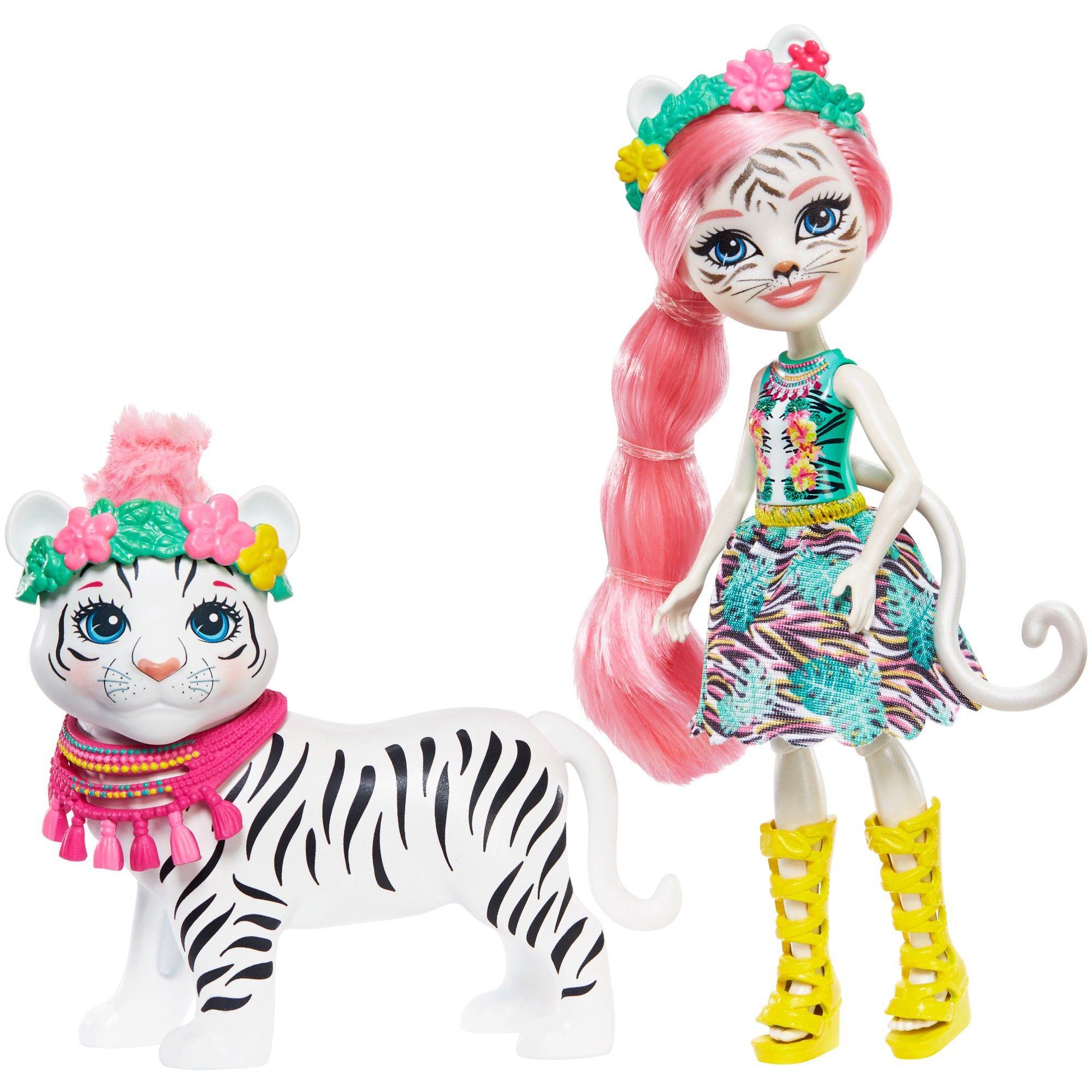 Enchantimals Tadley Tiger Kitty Dolls Juguetes Mattel Juguetes Para Ninas Ninos De La Calle