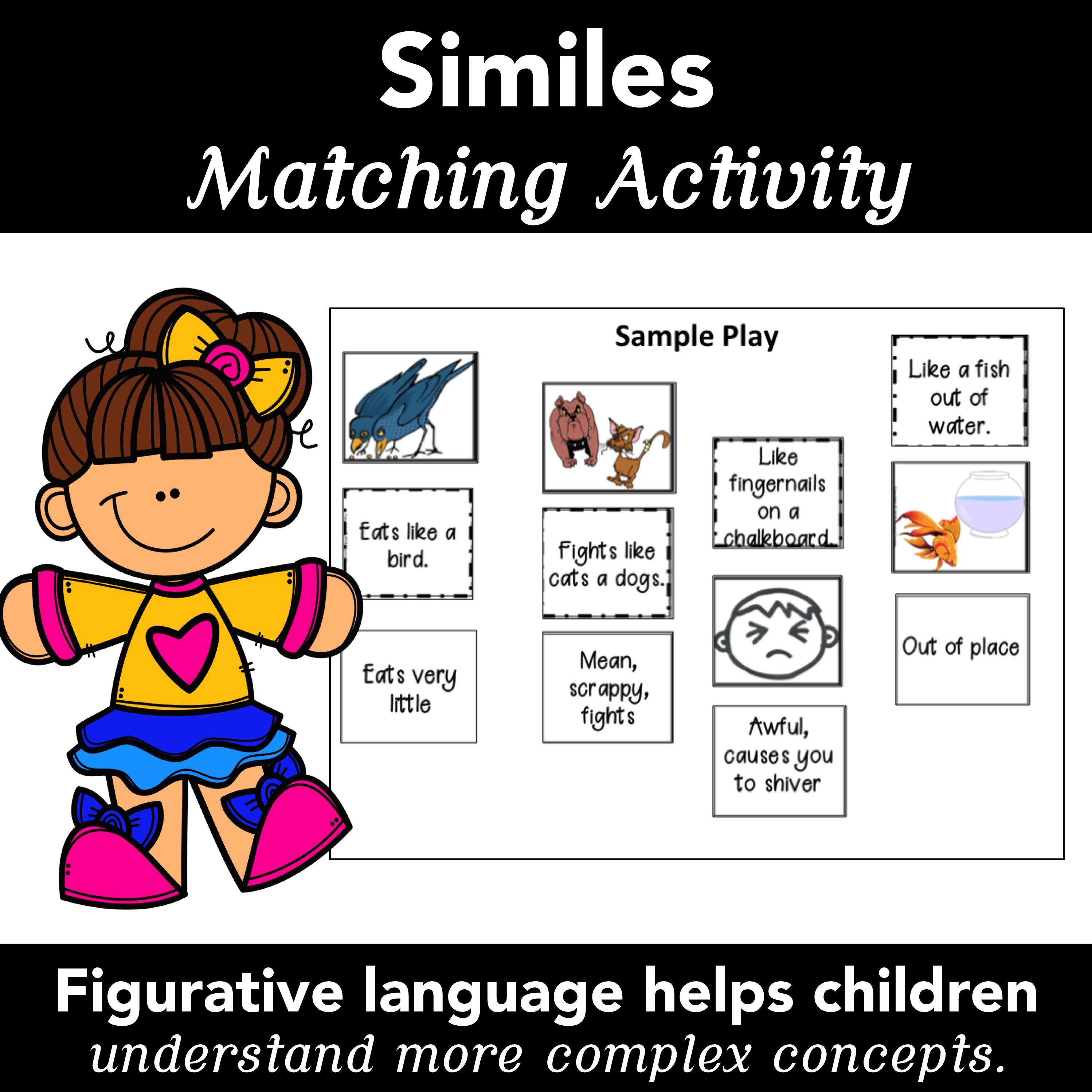 Similes Figurative Language