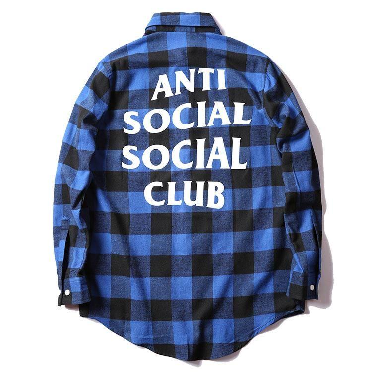 Anti Social Social Club Flannel